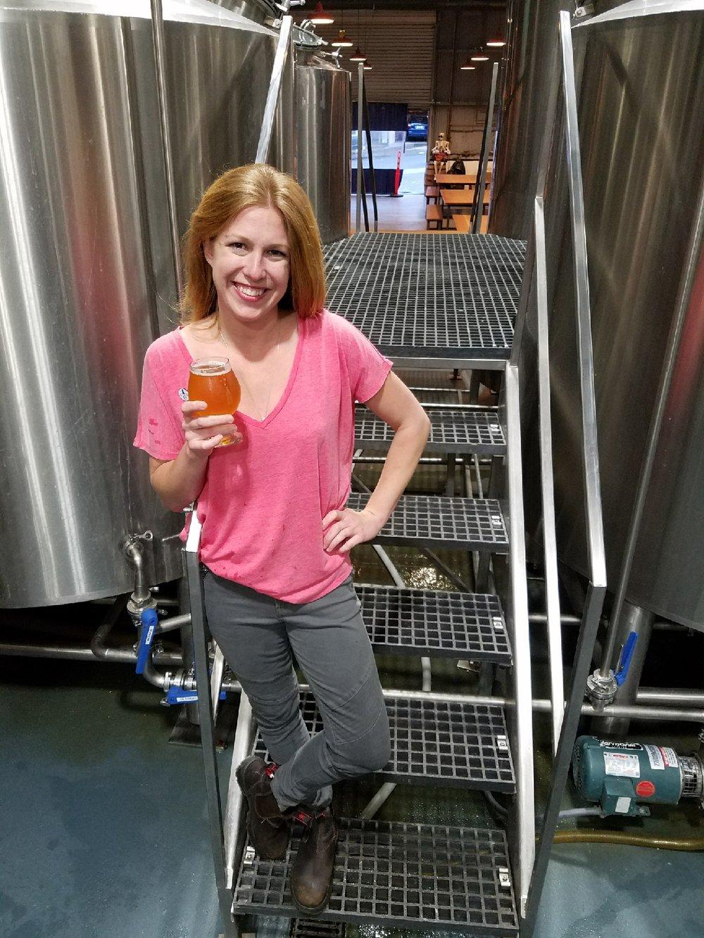 Sara Jean Reinelt  ~ Brewer & Cask Ale Designer