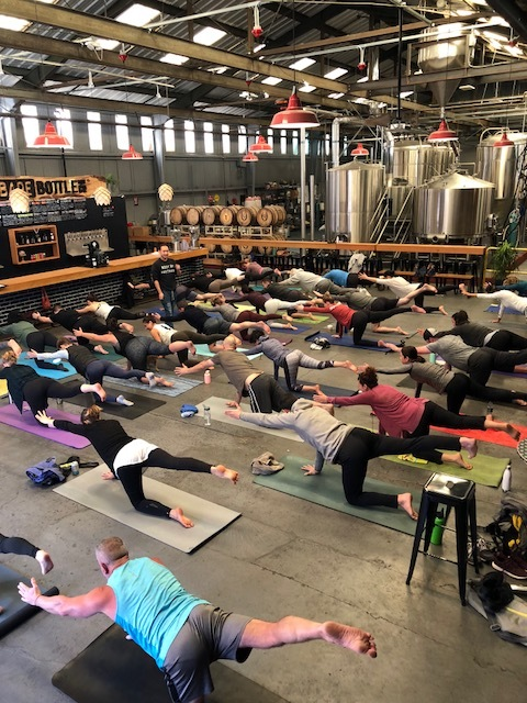 Inaugeral Yoga and Brews
