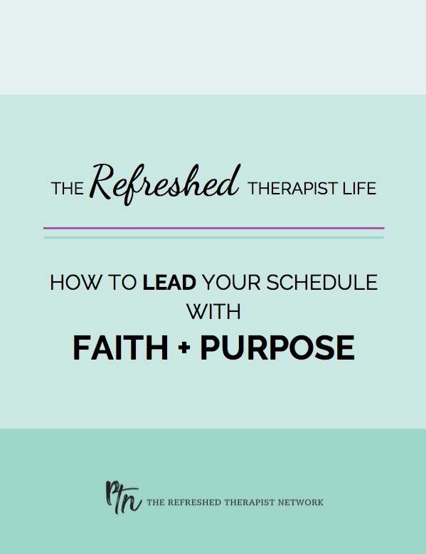 The Guide to Faith and Purpose In Scheduling