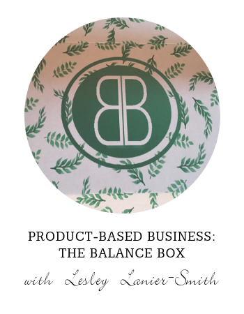 Product-Based Business: The Balance Box