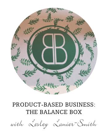Product-Based Business: The Balance Box