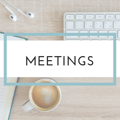 Meetings and Schedule - The Refreshed Therapist Network