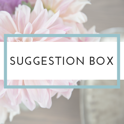 Suggestion Box | Refreshed Therapist Network
