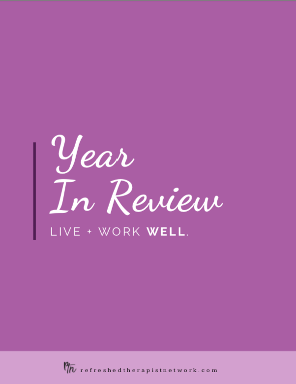 A Year In Review + Goal Setting Guide