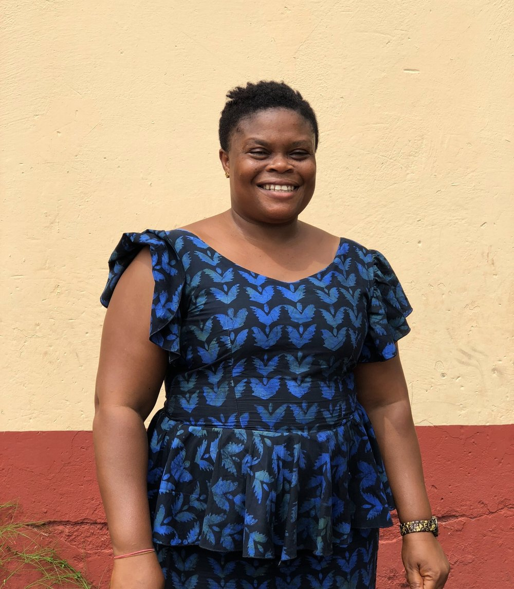 Mama Mawusi, founder and director of Misshahoe children's home and school.