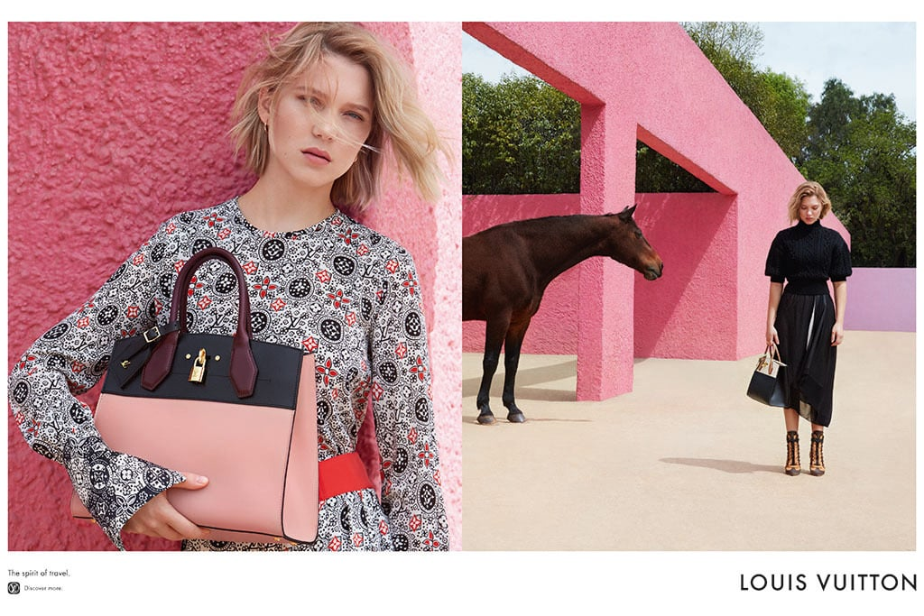 Louis Vuitton's First Campaign With Léa Seydoux