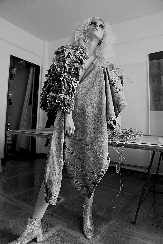 Fur de Denim: Mingus | Chaqueta: Lee vintage | Botas: Goodbye Folk