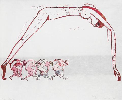 The Dance, Nancy Spero, 1993