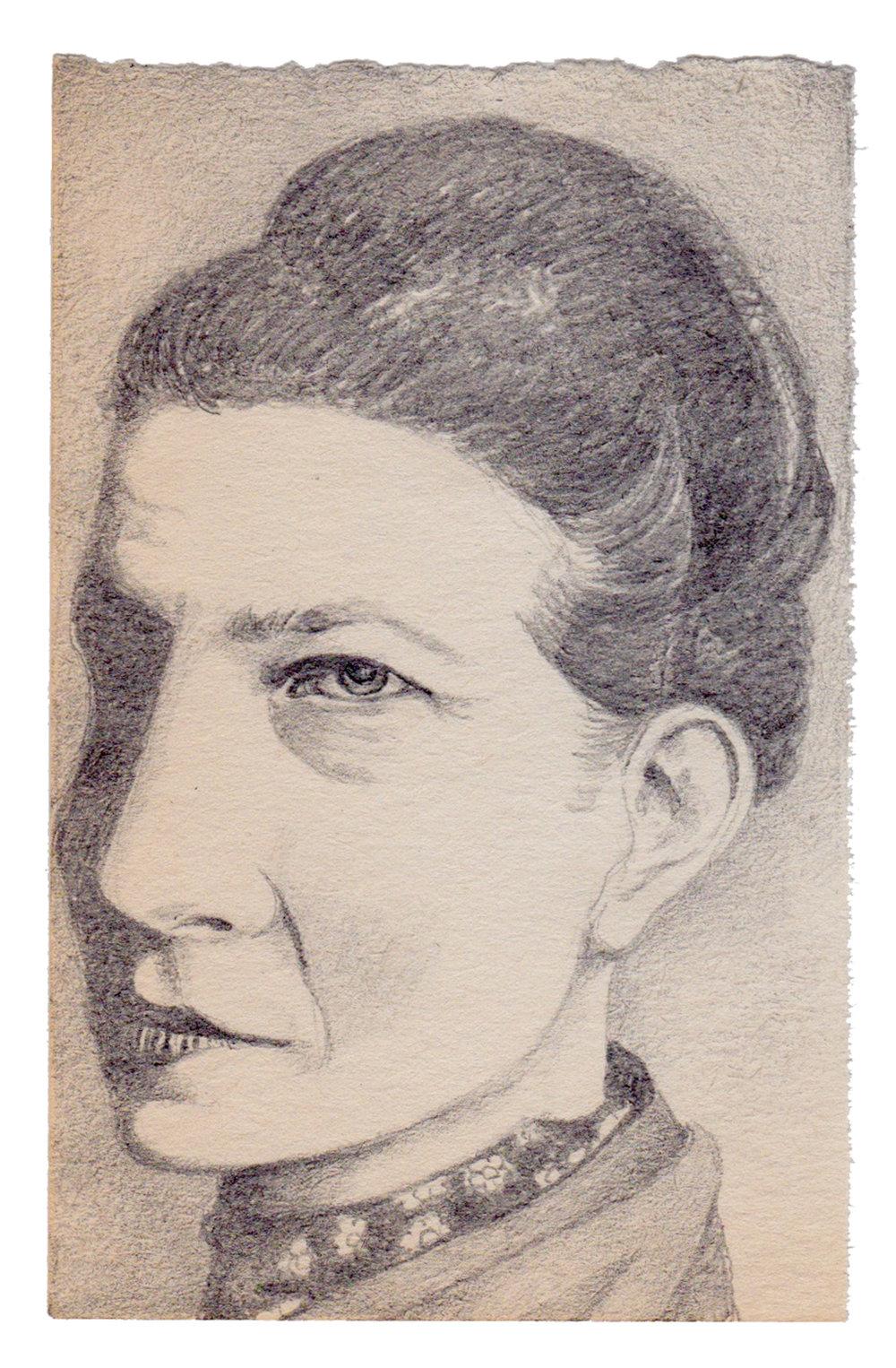Simone de Beauvoir, G. M. Bermejo.