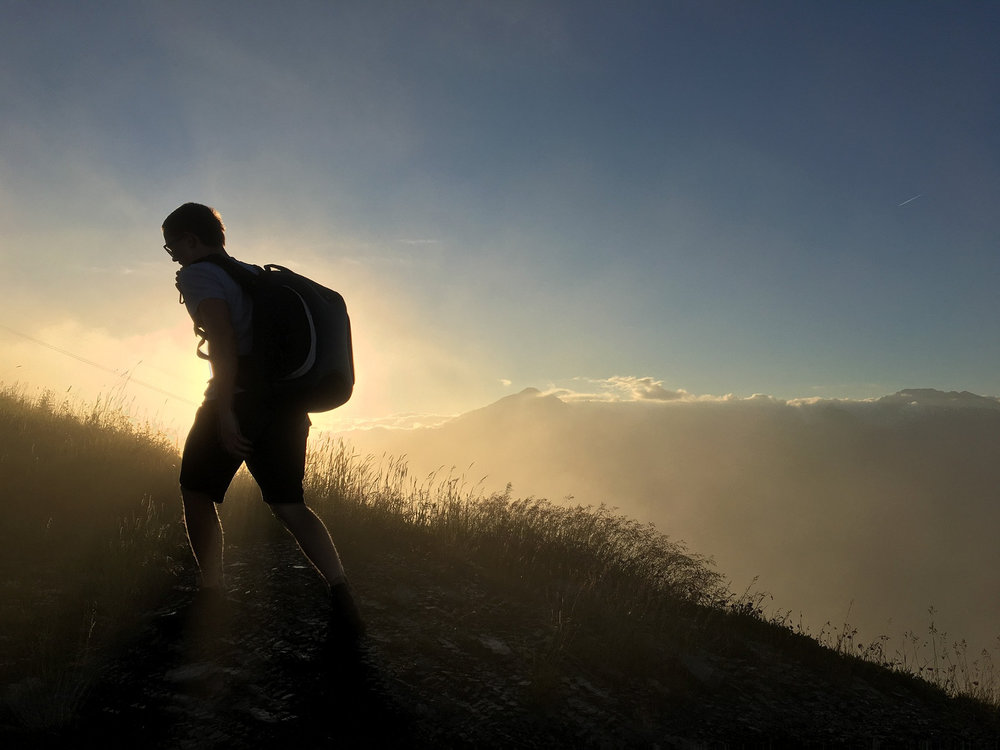 screw_the_average_test_run_walking_sunrise
