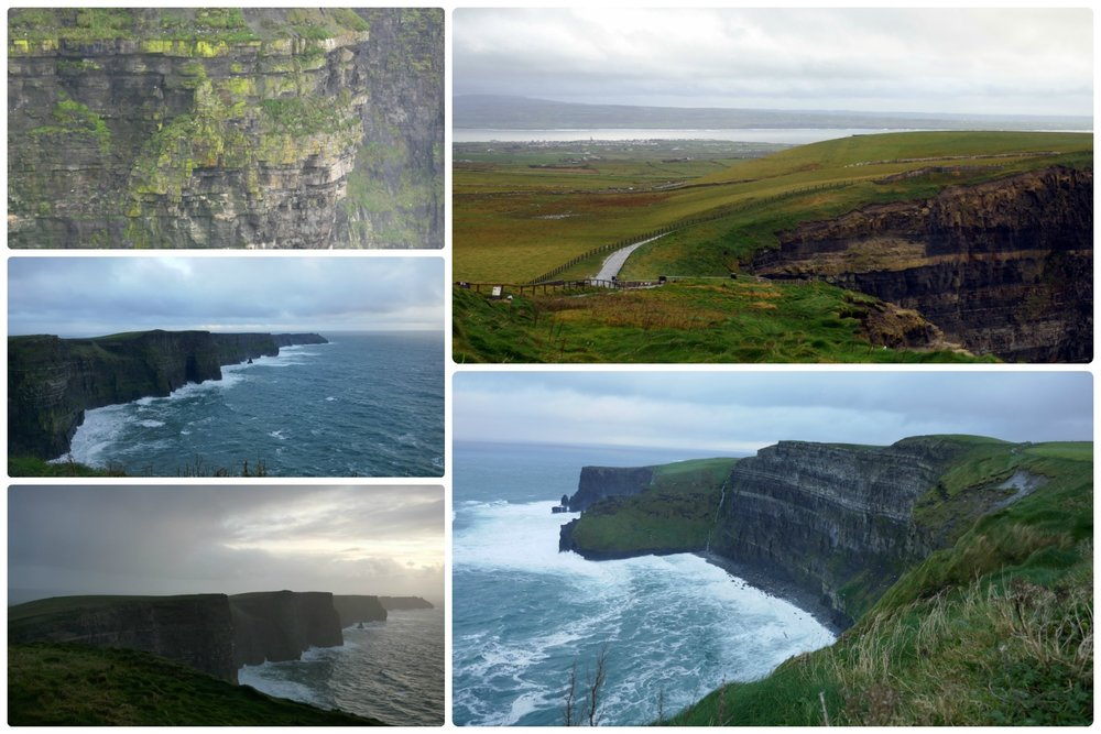 The Cliffs of Moher in Ireland are a must see!
