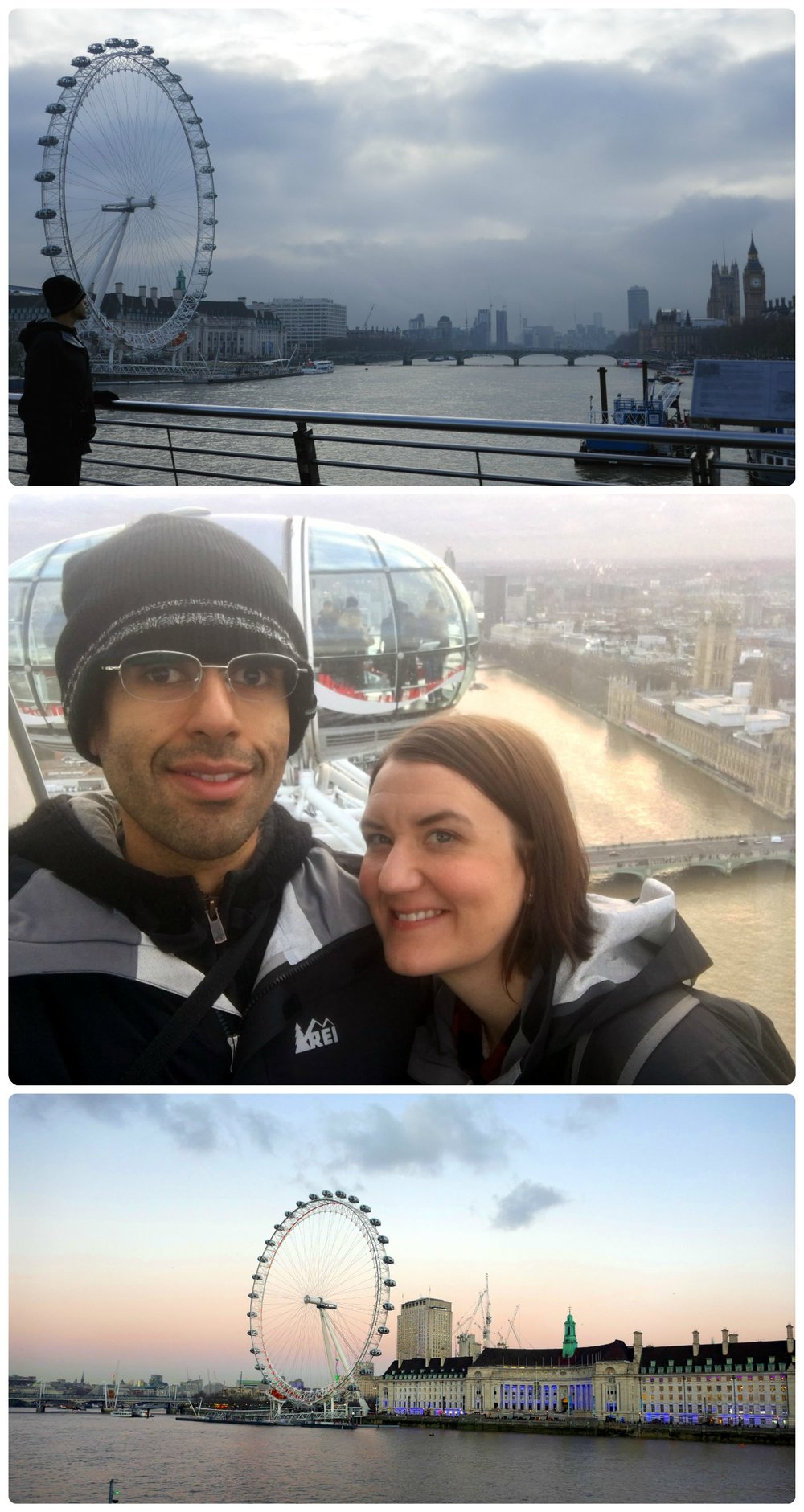 The famous London Eye.