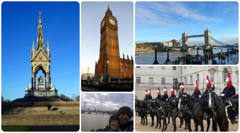 Tough to have a 'hard' day when we're in London!
