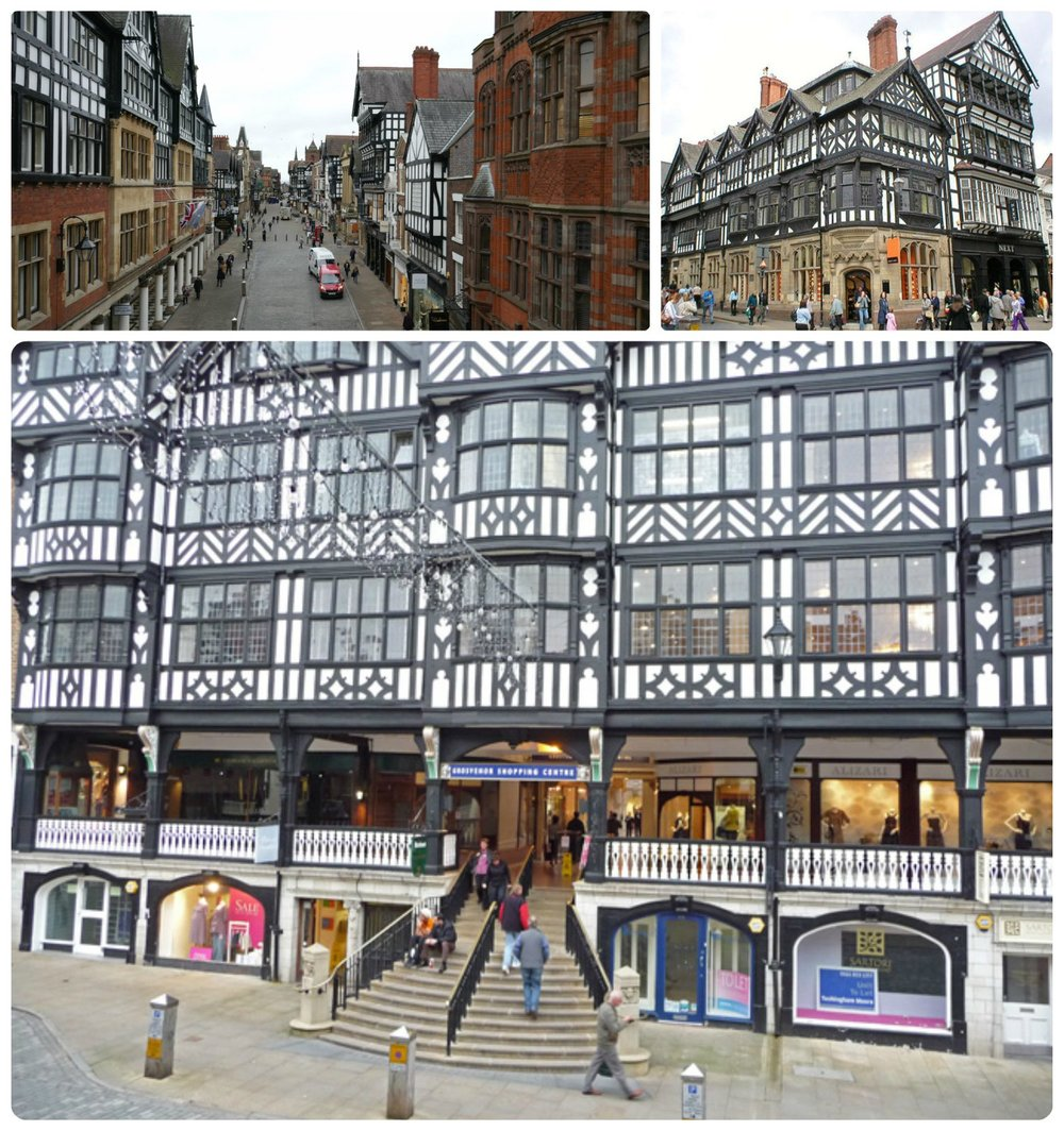 The Chester Rows are a must see in Chester, United Kingdom.