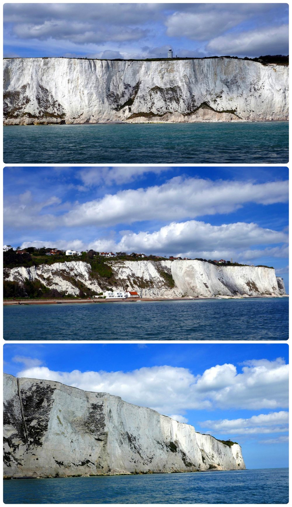 The views of the White Cliffs of Dover were amazing from the speed boat tour we took!
