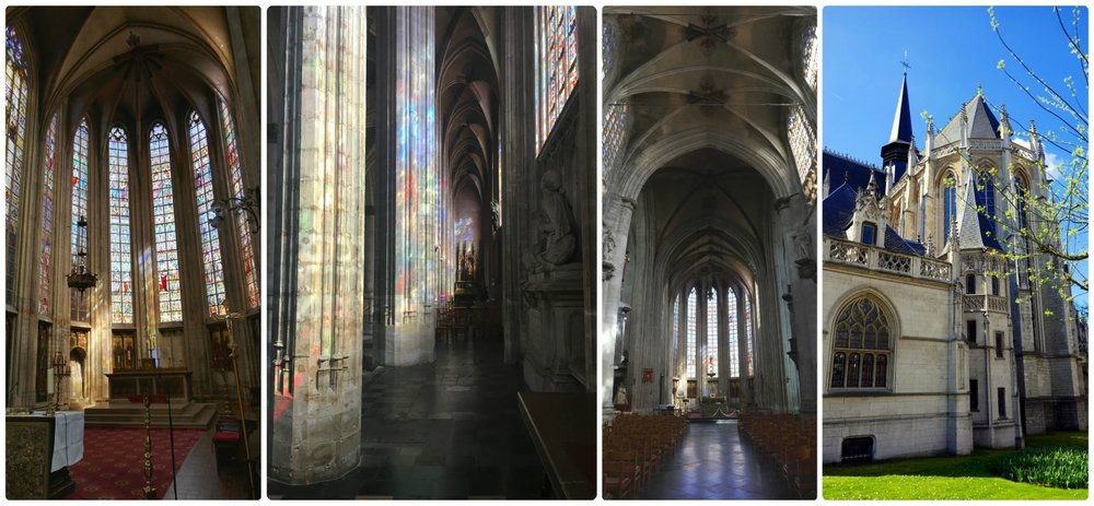 Church of Our Blessed Lady of the Sablon was picturesque inside and out. We particuarly enjoyed the stained glass.