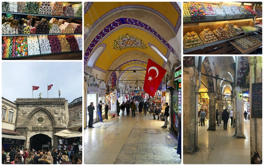 The Grand Bazaar has everything from candies and spices, to leather and clothing. Remember, don't forget to negotiate the price!