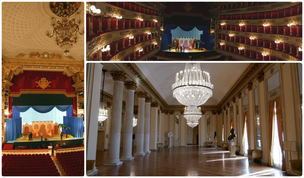 The Teatro alla Scala was a beautiful opera house!