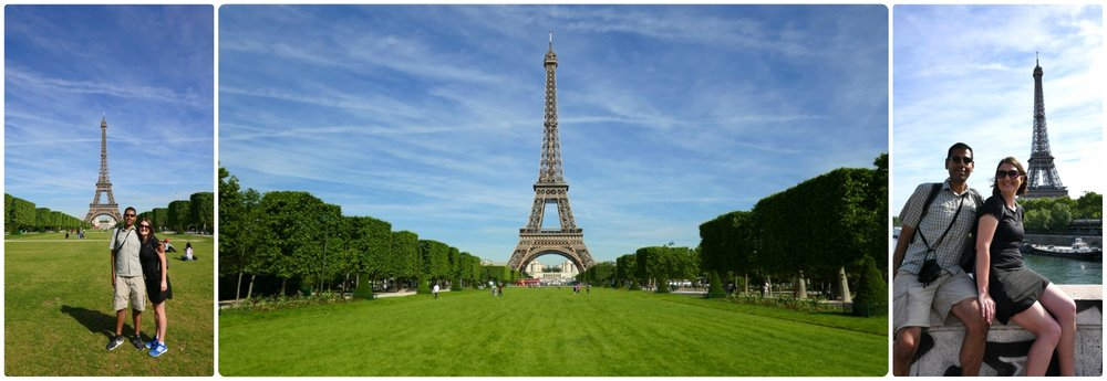 The Eiffel Tower is synonymous with Paris. Taking pictures from all over Paris was a must!