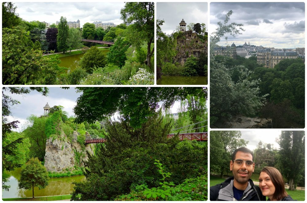 Parc des Buttes-Chaumont was our favorite park that we visited in Paris!