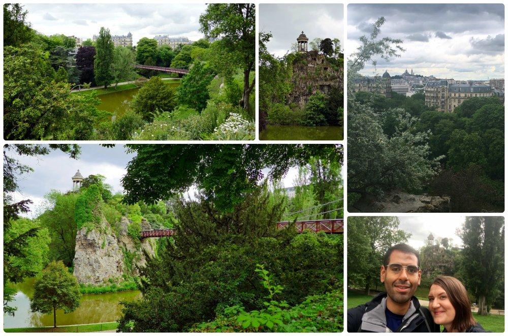 Parc des Buttes-Chaumont was our favorite park that we visited in Paris!