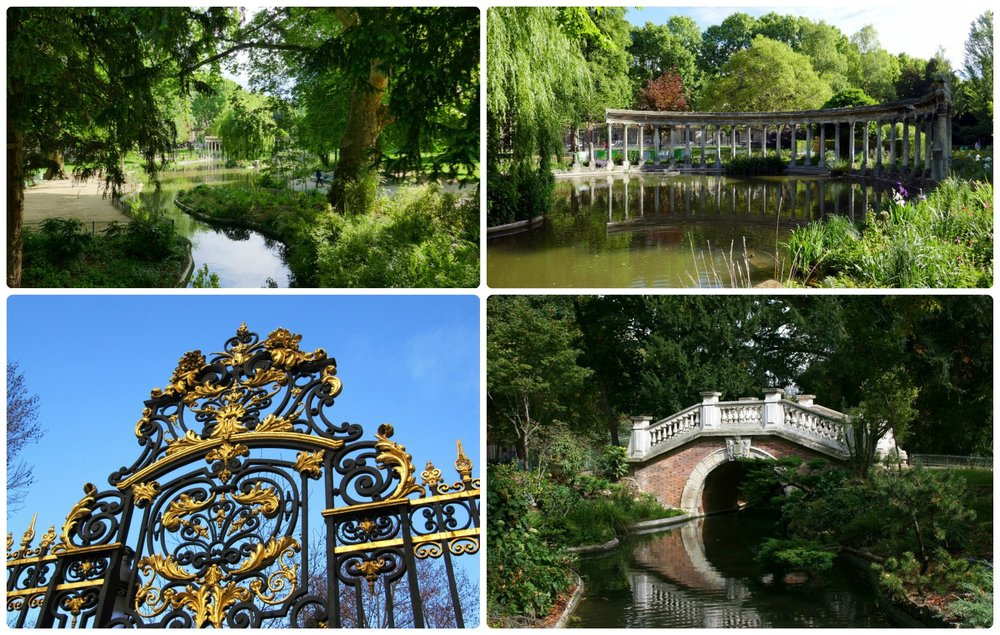 Take the time to explore Parc Monceau and you'll find treasures throughout the park!
