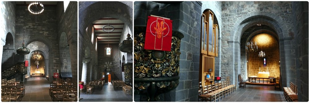 Images inside the Old Aker Church. Once inside, it's like walking into the Middle Ages!