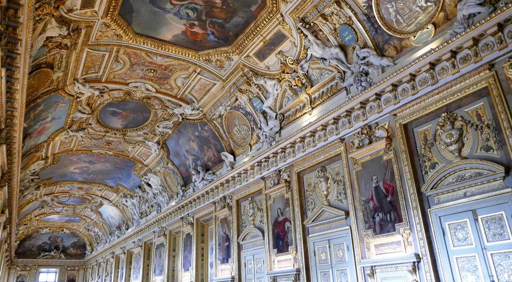 Apollo Gallery Room, Louvre Museum, Paris, France