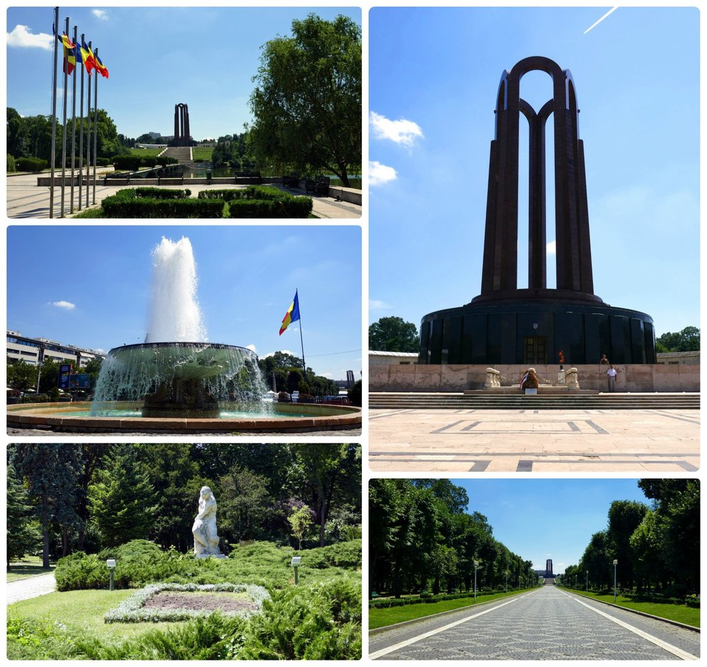 The Unknown Soldier Monument is the largest attraction in Carol Park, however it's not all there is. When visiting, be sure to explore beyond the monument and see the statues, the lake, and water fountain.