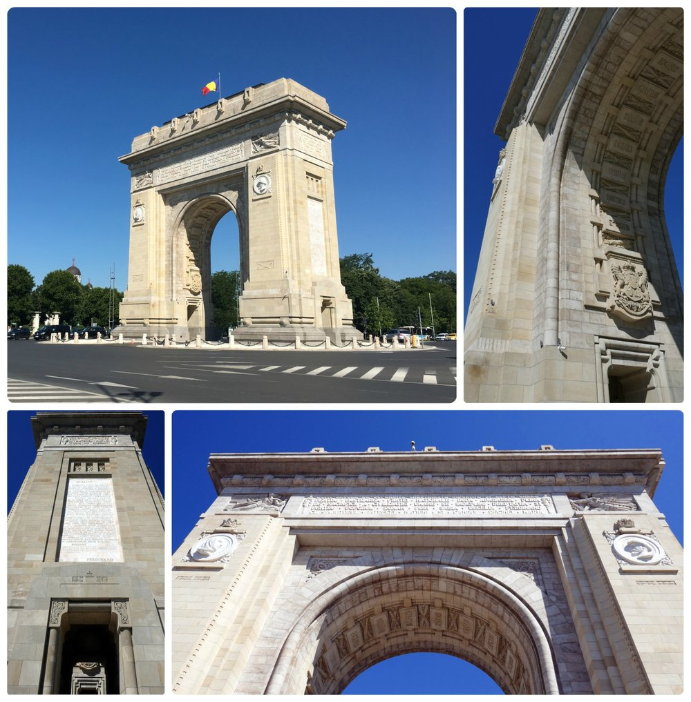 The Triumphal Arch is a great sight from afar, however, don't miss the detail on all sides of the arch. It's unfortunate that visitors are allowed to go to the top of the arch only on rare and special occasions.