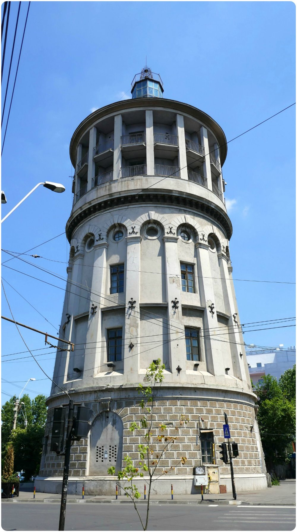 The Fire Tower has a long history in Bucharest.