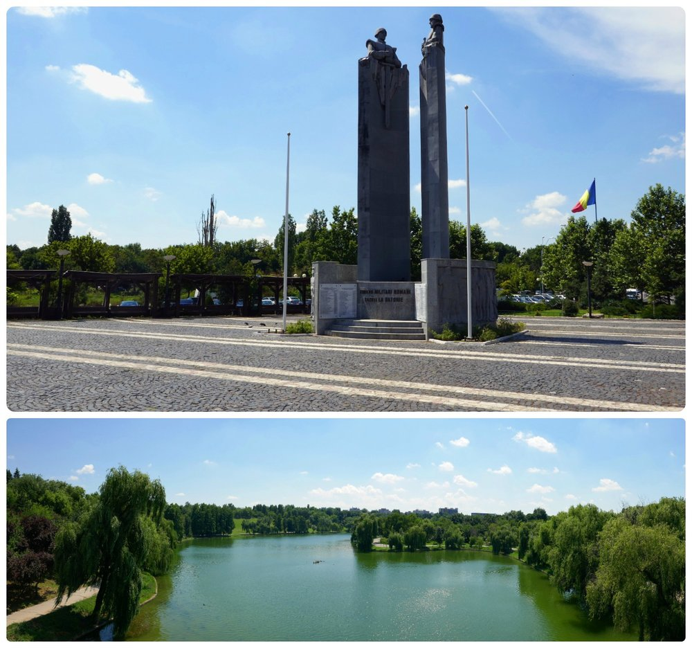 Tineretului Park is a large park that's great for breaks from the hustle and bustle of the city.