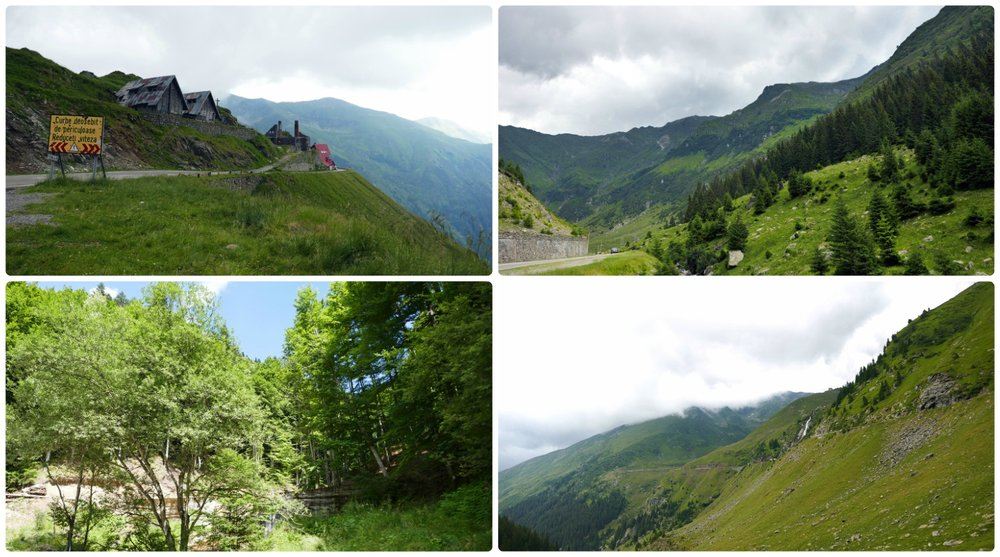 The views on the Transfagarasan Highway are beautiful from start to finish!