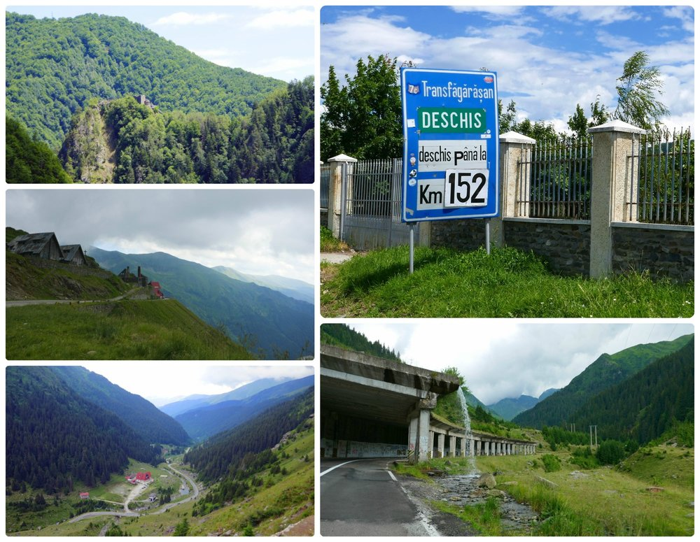 Many of the views along the Transfagarasan Highway. It's a road trip not to be missed!