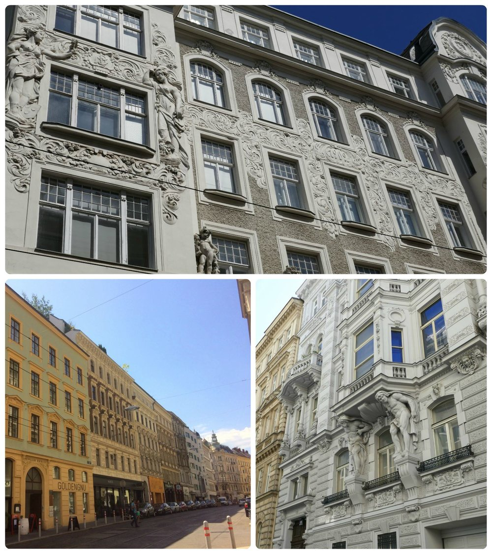 The architecture in Vienna was stunning and certainly left an impression on us!