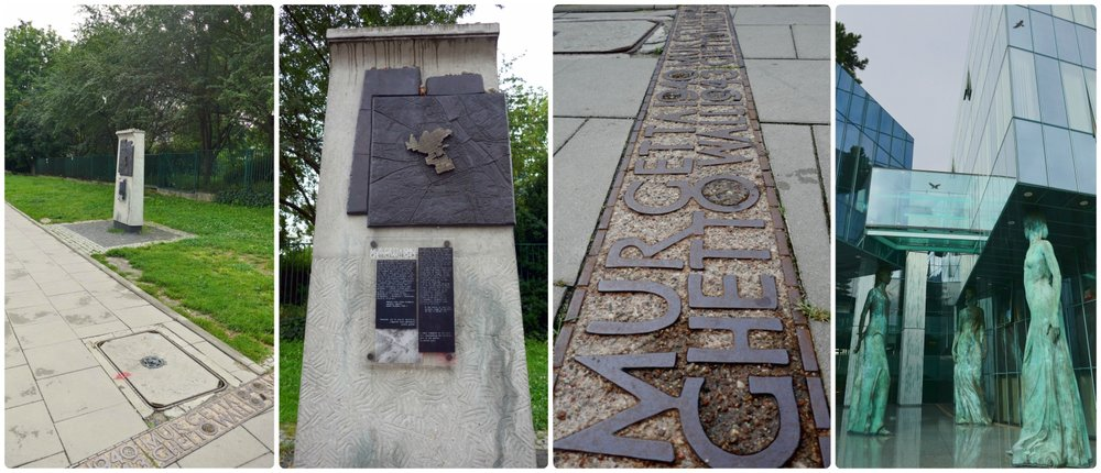 When visiting Warsaw, be sure to find one of the many Jewish Ghetto boundary markers that represents where the ghetto wall once stood. It's a solemn reminder of the pain and suffering of war.