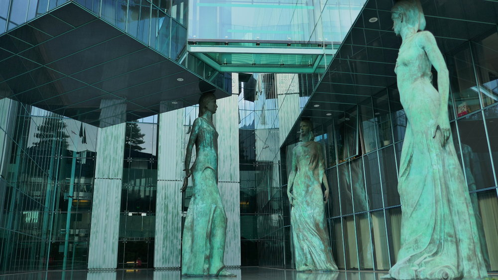 Caryatids, Supreme Court of Poland, Warsaw, Poland