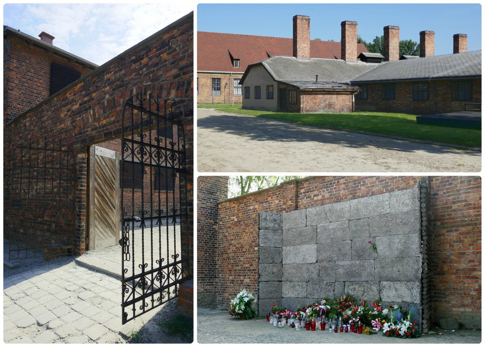 The feeling of terror and death could be felt at the Death Wall, where victims passed through the gate to face their fate of execution in front of the wall.