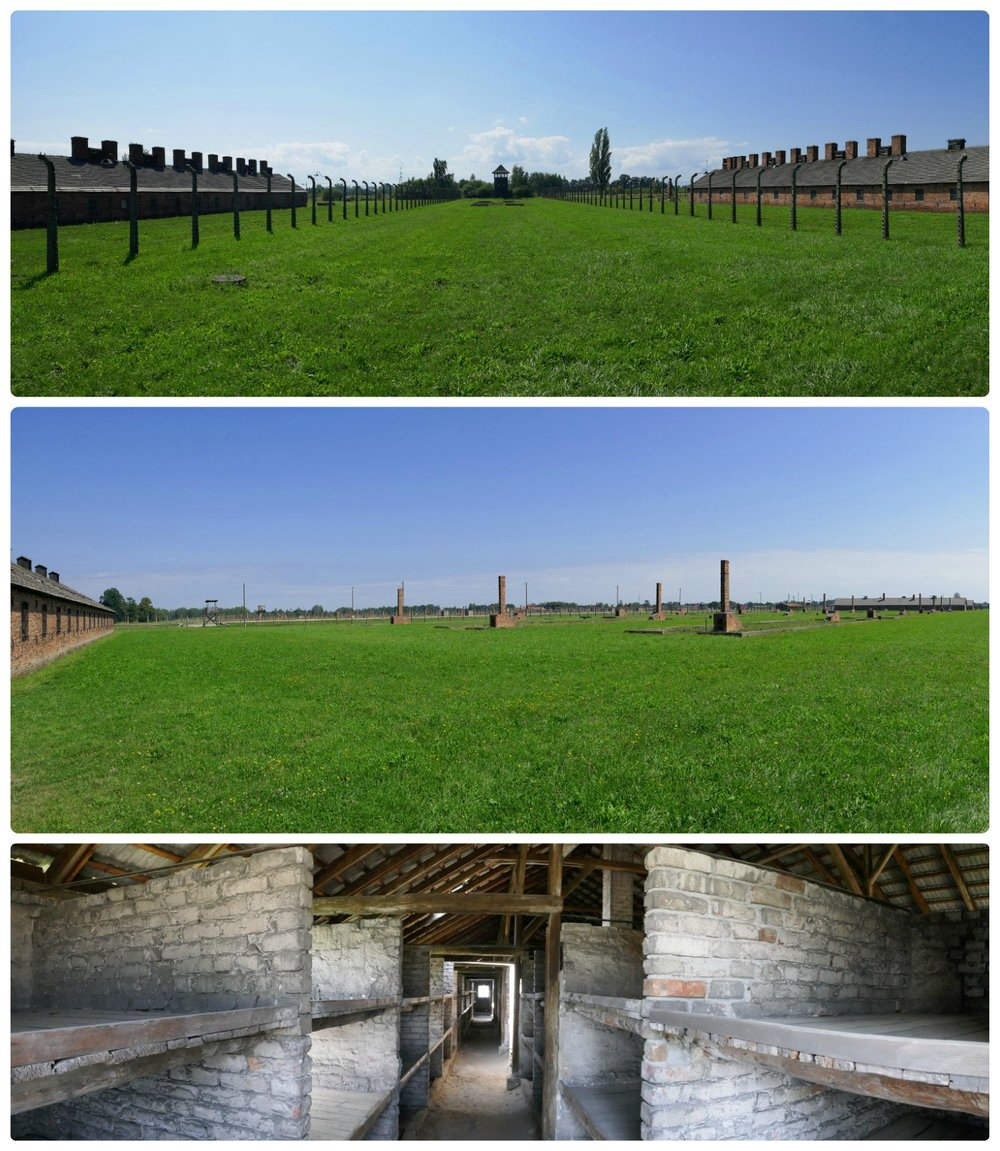 The Auschwitz II-Birkenau site is extremely large and many of the buildings are now left in ruins. The living situations were stark and it was difficult to even begin to reflect on how terrible it must have been.