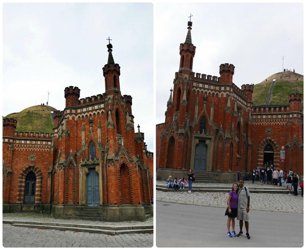 The bus in Krakow, Poland that runs to Kościuszko Mound only runs once an hour, so plan accordingly!