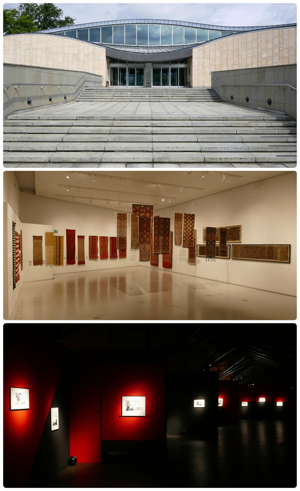 We didn't expect a Japanese art museum to be in Krakow, Poland, but we're glad we took the time to visit the Manggha Centre. The exhibits were well done and while it was a Japanese Art Museum, they featured Polish exhibits as well.