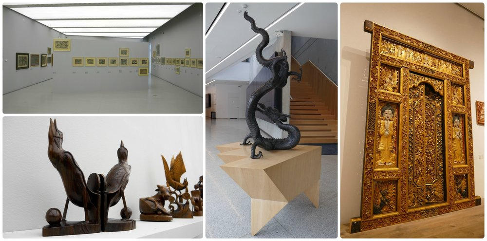 Exhibits are rotated throughout the year at the Manggha Centre in Krakow, Poland, and what we had the pleasure of seeing was very well curated.