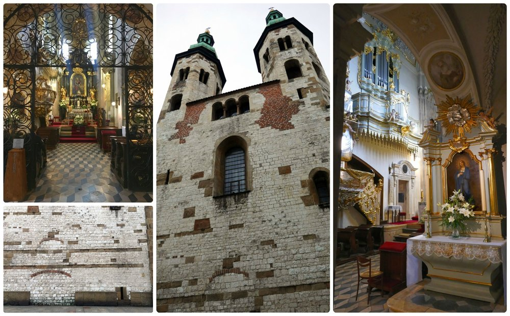 St. Andrew's Church in Krakow, Poland is on the smaller size, but the decoration and detail inside are magnificent!