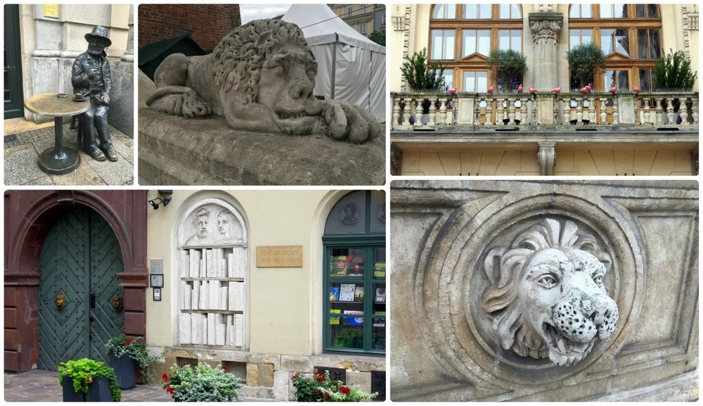 We loved all of the detail we saw while exploring the streets of Old Town Krakow, Poland!