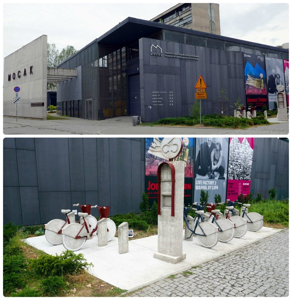 If you're a fan of modern and contemporary art, then be sure to stop by the MOCAK while in Krakow, Poland!