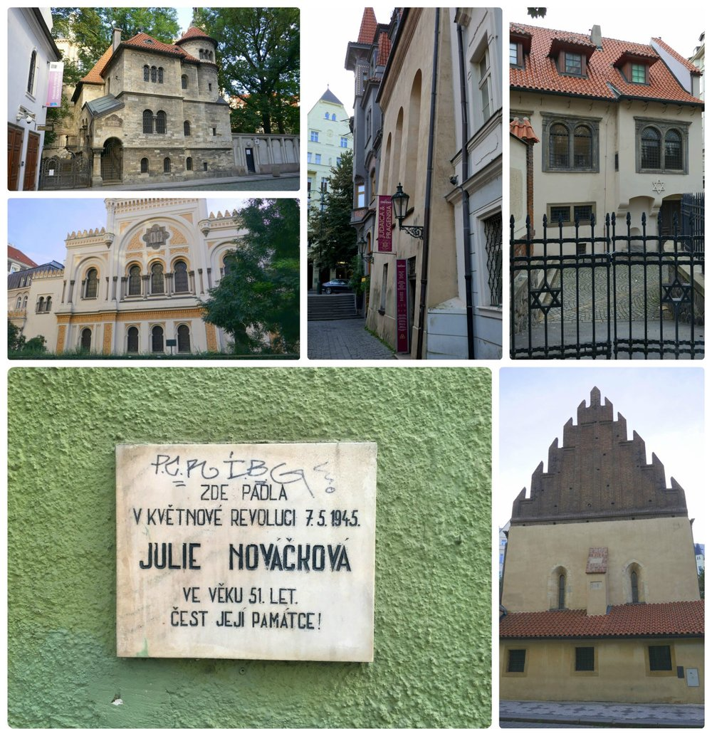 There's an imense amount of history to be seen in the Jewish Quarter of Prague.