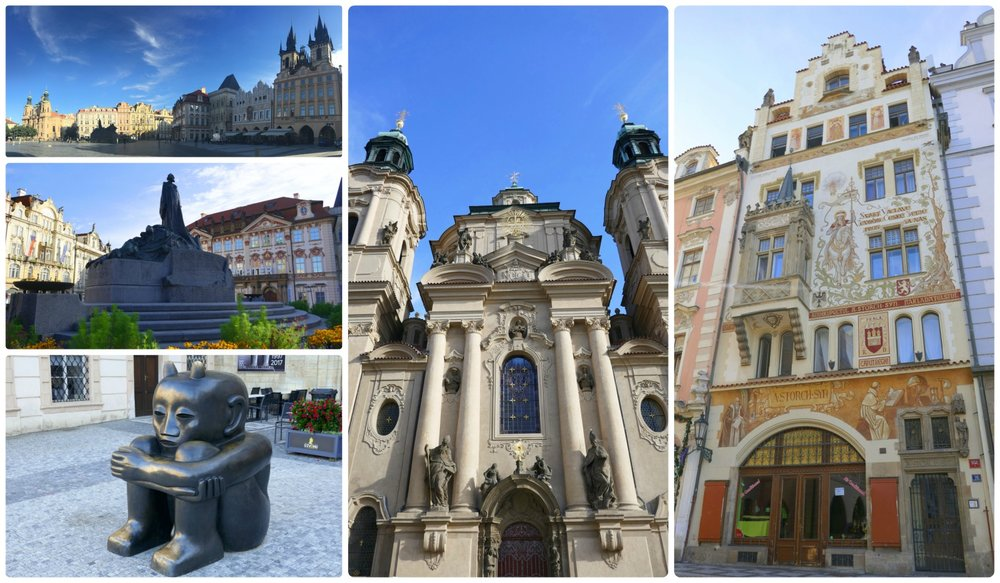 Old Town Square is a huge public square that's surrounded by beautiful buildings, including two churches. Plus, in the center is a memorial that shouldn't be missed.