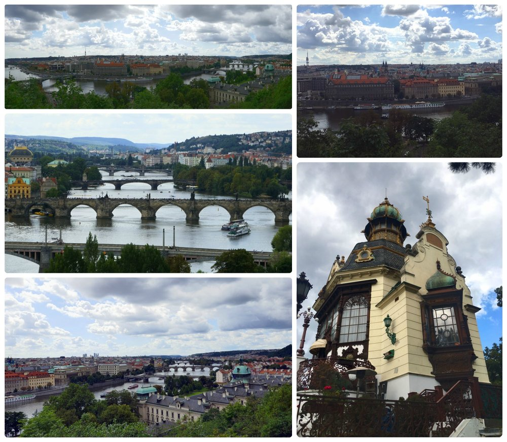 Often times the best views in a city aren't the ones you have to pay for, and Prague was no different. Head to Letna Park (Letenské sady) and make your way to Hanavsky Pavilion for one of the best views in the city. From there, you'll be able to see the city and all of the bridges over Vltava River