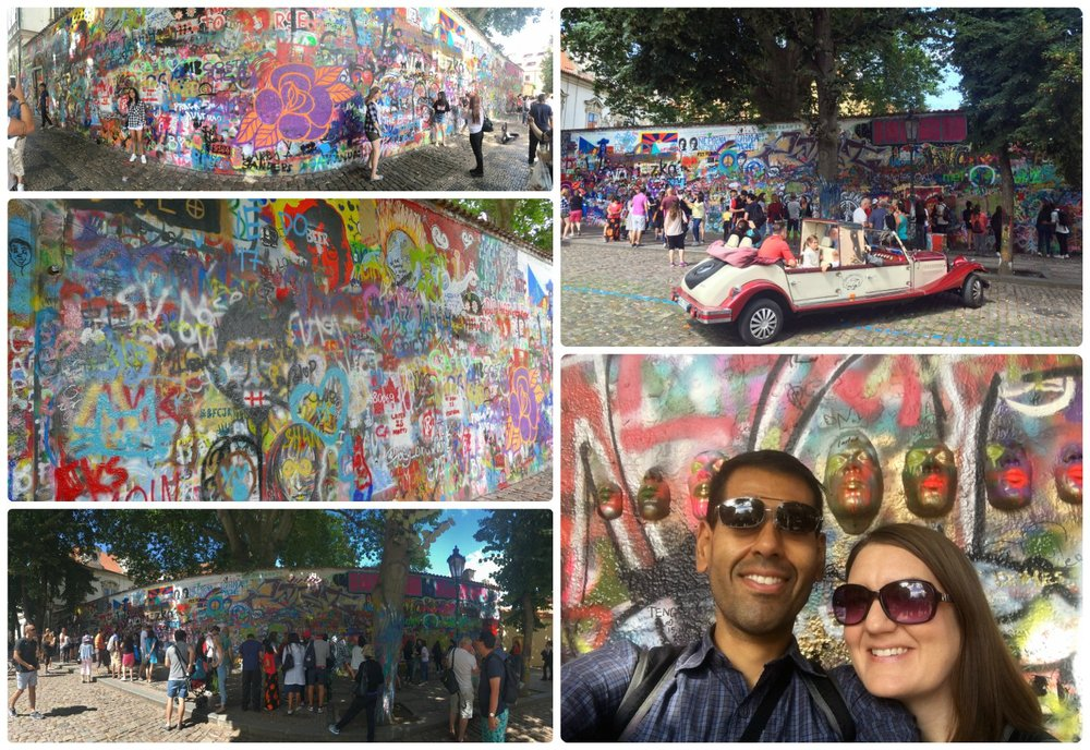 If you're a fan of John Lennon, believe in peaceful relations, and/or colorful street art, then the John Lennon Wall in Prague should be on your must see list! Plus, bring a pen or paint and add your own touch to the wall!