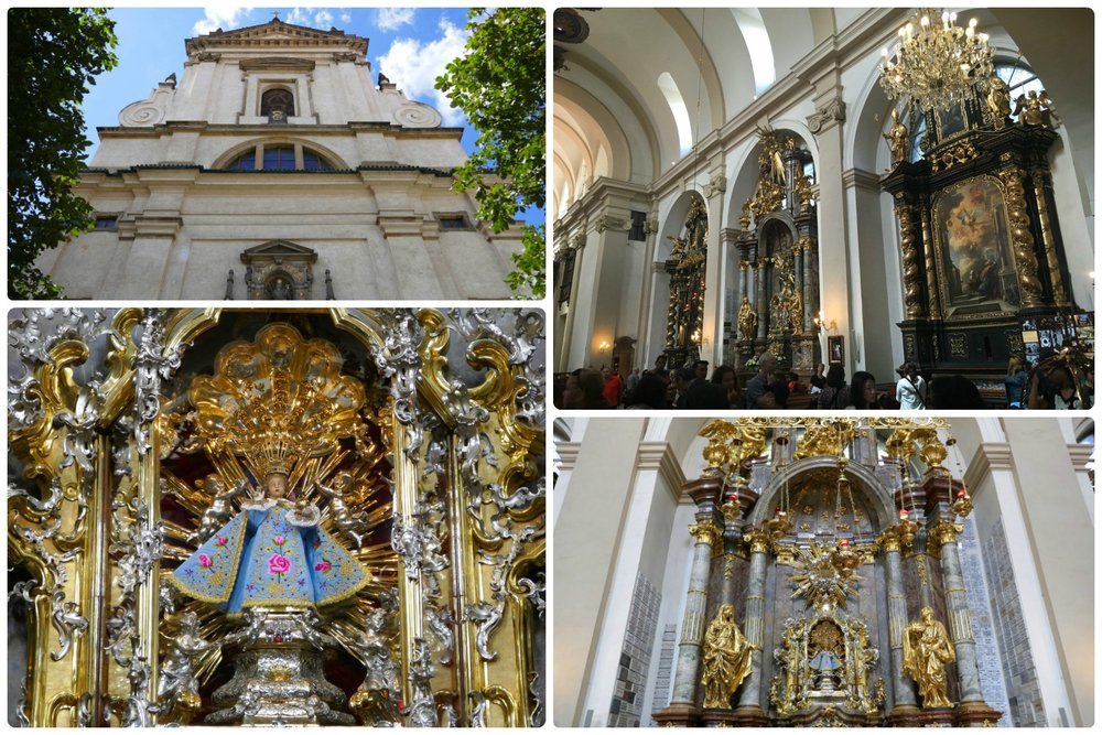 People come from all over the world to visit the Church of Our Lady Victorious and see the Infant Jesus of Prague.
